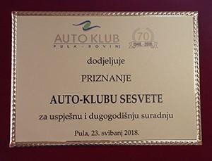 Suradnja autokluba
